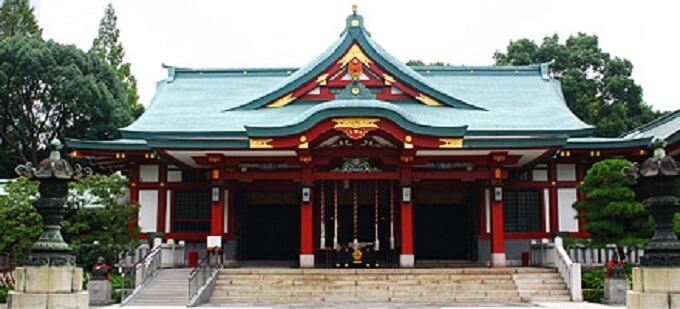 茅の輪くぐり神社